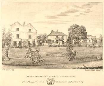 Abbey House, c. 1828