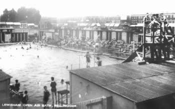 Outdoor Swimming Pool, Bellingham, c. 1925