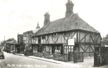 Tudor Cottages, Foots Cray High Street, 1930