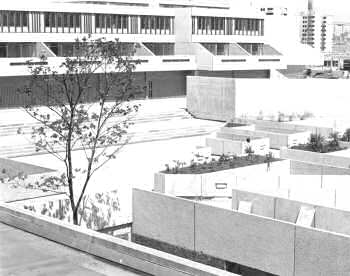 Landscaping, Thamesmead, 1968