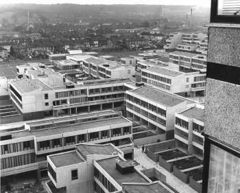 Thamesmead From Maplin House, 1970