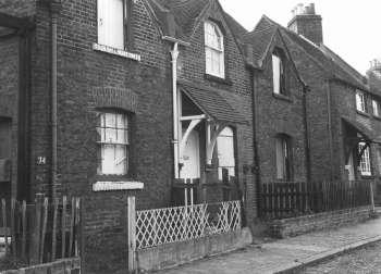 Waldo Road, Bromley Common, 1975