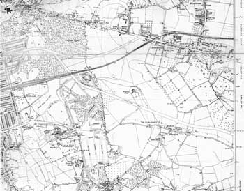 Map of Eltham, Blackfen and Welling, 1938