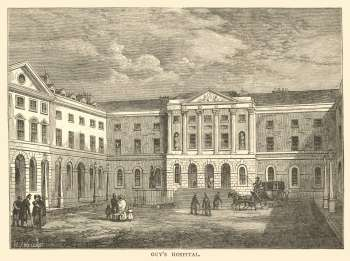 Guy's Hospital, Borough, c. 1830