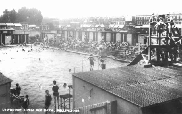outdoor swimming pool bellingham c 1925 ideal homes