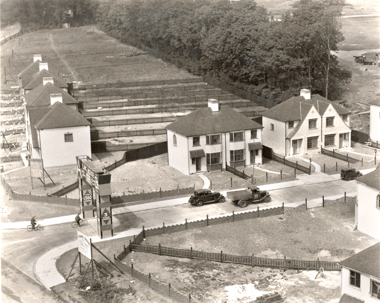Martens Avenue, Barnehurst, 1934 - click for smaller image