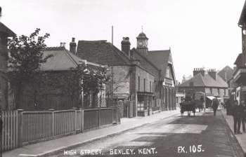 High Street, Bexley Village, c. 1905