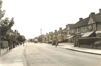 Brampton Road, Bexleyheath, 1951