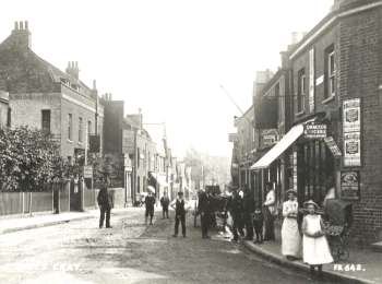 Foots Cray High Street, Foots Cray, 1900