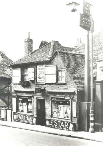 Village Store, Foots Cray High Street, Foots Cray, 1944