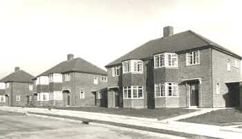 Princes Close, Sidcup, 1950