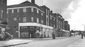 Station Parade, Welling, 1951