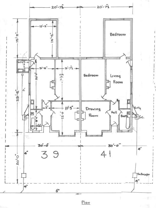 Plans Of Hammett Bungalows Lancelot Road Welling 1933
