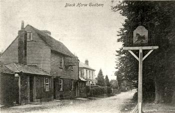 Black Horse Inn, Westerham Road, Biggin Hill, Bromley, c.1905