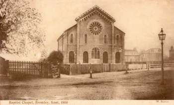 Baptist Chapel, Bromley, 1866