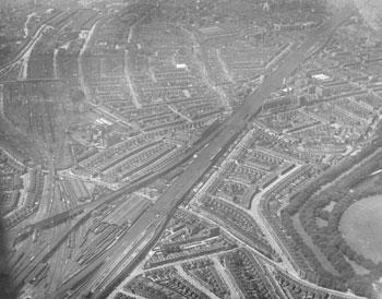 Aerial View, Bermondsey, 1926