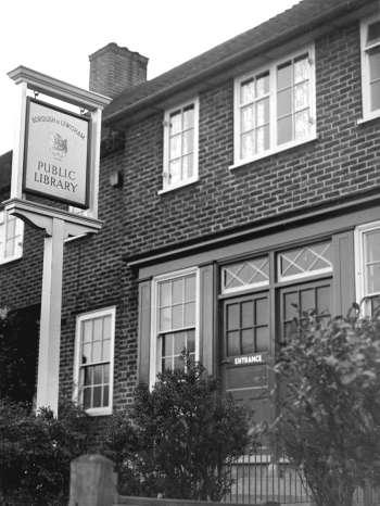 Bellingham Library, Oakview Road, Bellingham, 1960