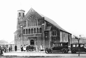 Opening of St Dunstan's Church, Bellingham, 1925