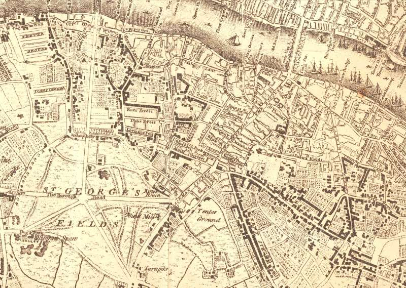 Southwark in the past, History of Southwark