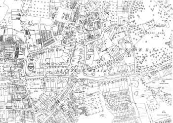 Map of Belvedere, Bexley, 1933
