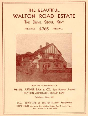 Arthur Ray & Co Brochure, Sidcup, c. 1930