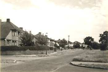Bexley Lane, Sidcup, 1951