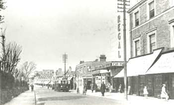 High Street, Sidcup, 1934