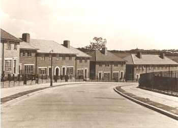 Glenmore Road, Welling, 1938
