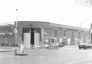 Bromley Bus Garage, Hastings Road, Bromley Common, 1986
