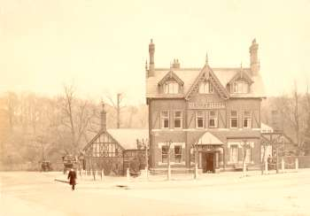 Bickley Arms Hotel, Chislehurst, c. 1870