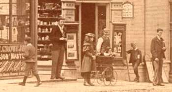 Chislehurst West (now High Street), Chislehurst, 1897