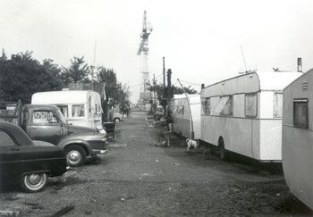 Thistlebrook Travellers' Site, Harrow Manorway, Abbey Wood, c. 1967