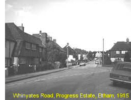 Whinyates Road, Progress Estate, Eltham, 1915