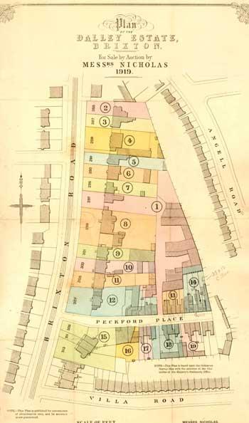 Dalley Estate, Brixton Road, Brixton, 1919