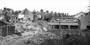 Ellerslie Square, Brixton, 1944