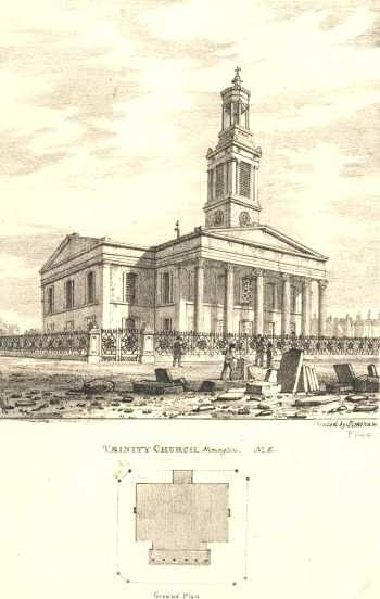 Holy Trinity Church, Trinity Church Square, Borough, c. 1880