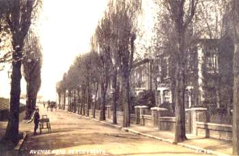 Avenue Road, Bexleyheath, 1914