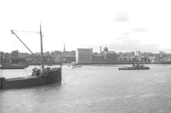 Erith from the Thames, 1936
