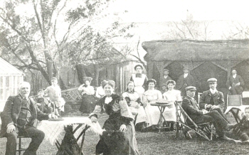 King's Tea Gardens, Foots Cray, c. 1905