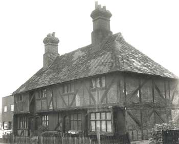 Tudor Cottages, Foots Cray High Street, 1971