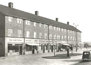 Forest Road, Slade Green, 1955