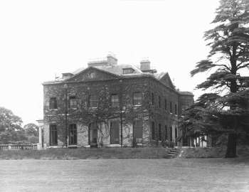 Bickley Hall, photographed in 1959
