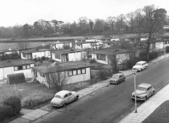 Prefabs, Magpie Hall Lane, Bromley Common, 1967