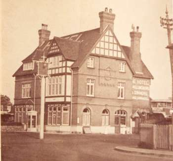 Railway Hotel, West Wickham, c. 1929