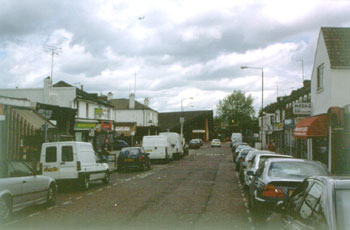 Wilton Road and Abbey Wood Station, Abbey Wood, 2002