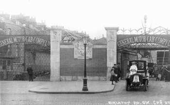 General Motor Cab Company, Brixton, c. 1905
