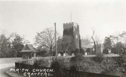 St Paulinus Church, Crayford, c. 1920