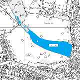 Map of Danson Park Lake - click to enlarge