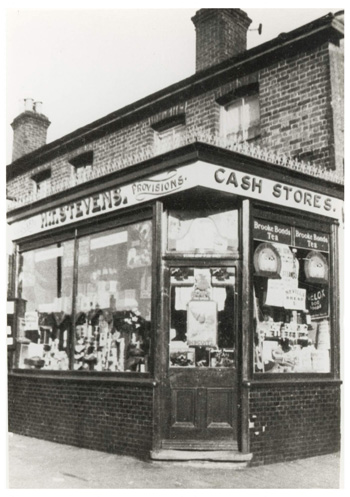 Stevens Grocers, Elmers End, Beckenham, c. 1930