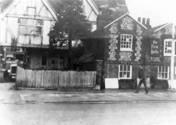 Five Bells, Bromley Common, c. 1950
